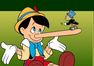 mentir nas candidaturas