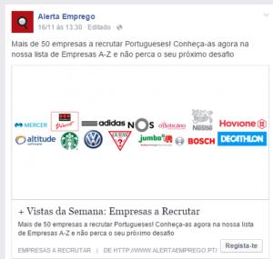 +50 empresas a recrutar 16-11-14
