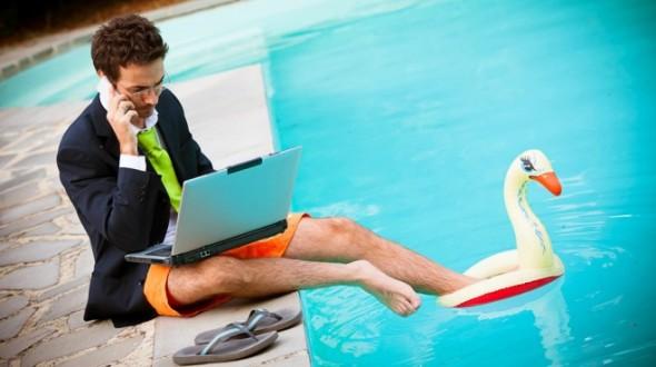 10 maneiras aproveitar o verão enquanto trabalha