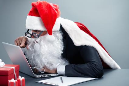 Como continuar a procurar emprego durante o Natal