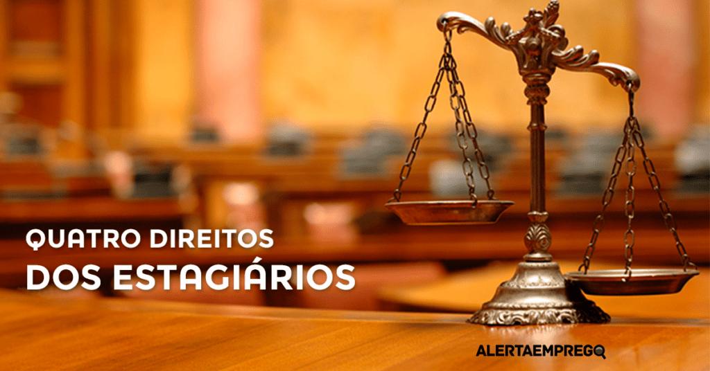 quatro direitos dos estagiários