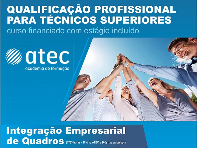ATEC promove formação profissional para Técnicos Superiores