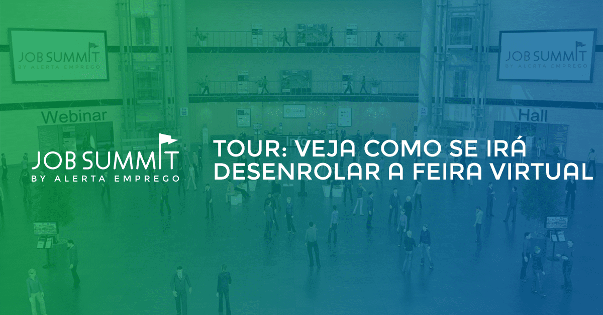Job Summit: tour pelo evento