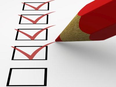 curriculum vitae checklist