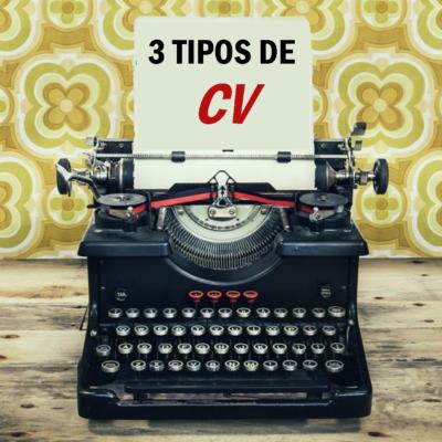 3 TIPOS DE CV