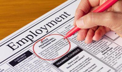 anúncios de emprego