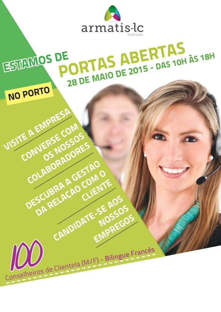 Anúncio Armatis - Open Day