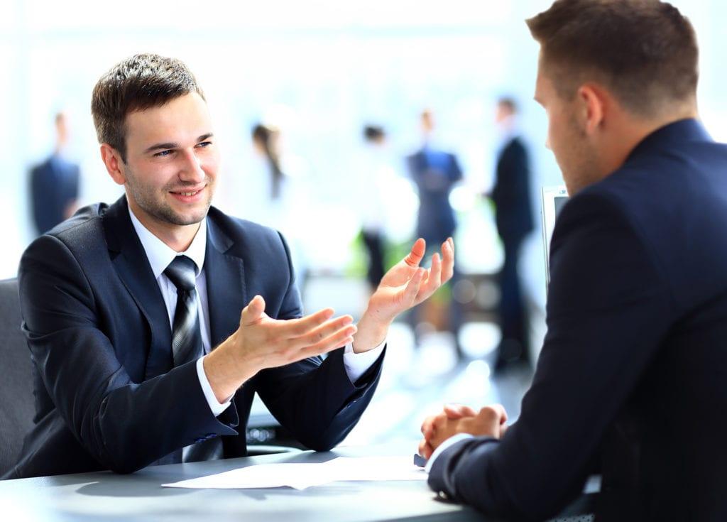 criar empatia com o recrutador