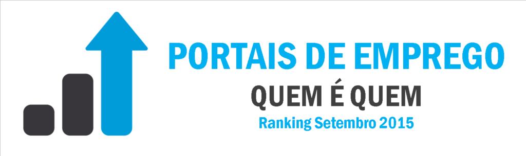ranking portais de emprego Setembro 2015