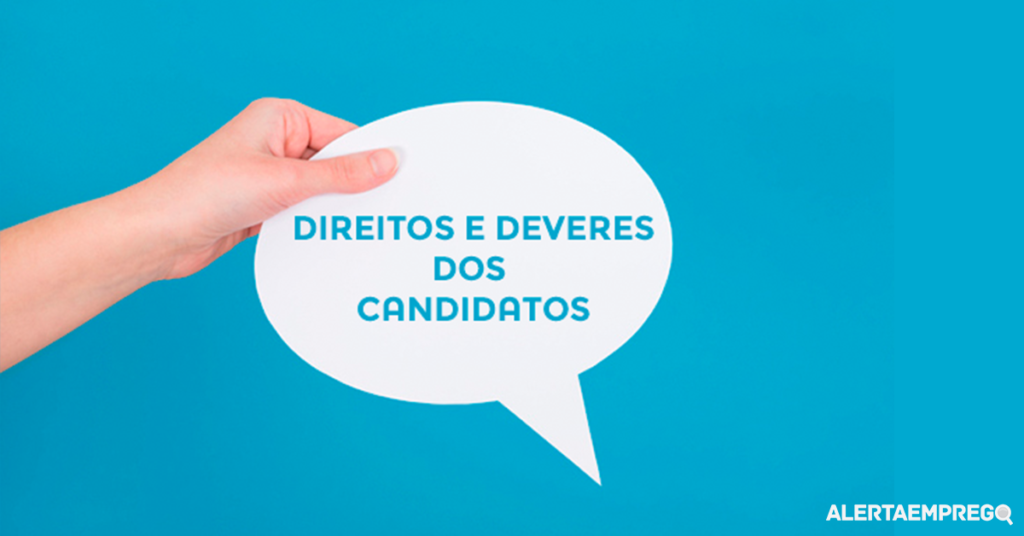 Procura de emprego direitos e deveres dos candidatos