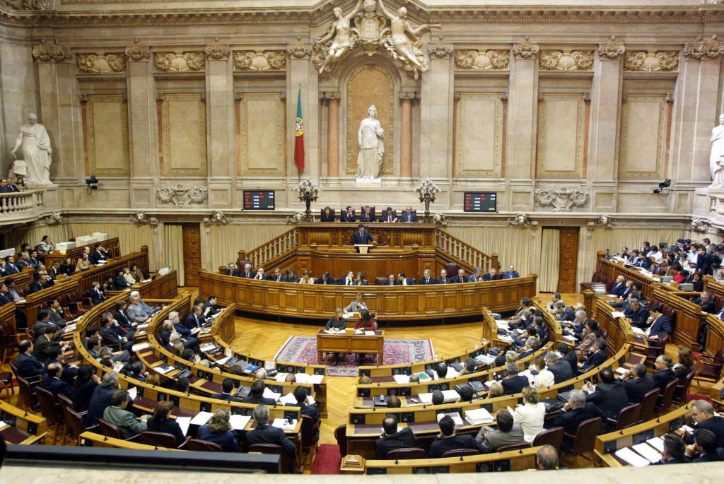 VISTA GERAL DO HEMICICLO , ASSEMBLEIA DA REPUBLICA , DURANTE A APRESENTAÇÃO DO PROGRAMA DE GOVERNO