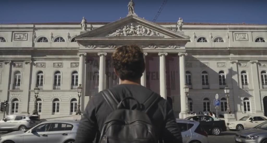 Jovem Alemão em Erasmus apaixona-se por Lisboa