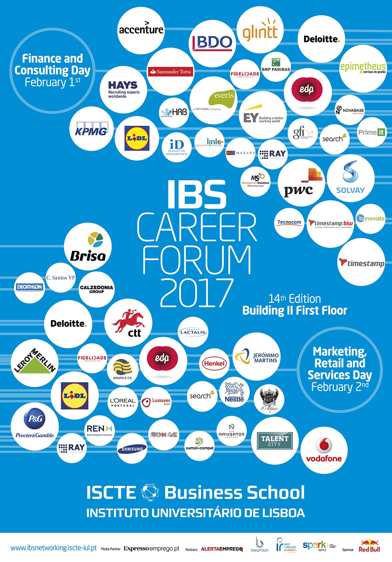 Career Forum da ISCTE BUSINESS School regressa em fevereiro
