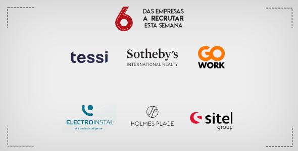 6 Empresas a Recrutar esta semana em Portugal