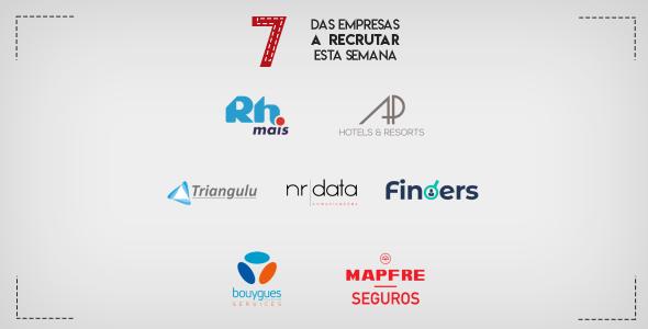 7 Empresas a Recrutar esta semana em Portugal