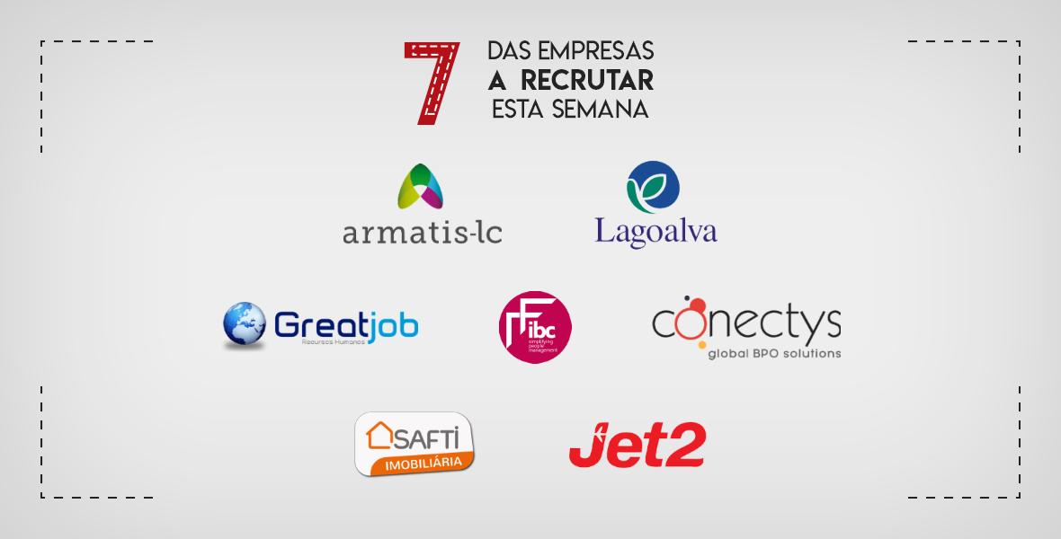 7 Empresas a Recrutar em Portugal